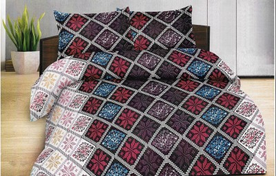 Goodwill Cotton Abstract Double Bedsheet
