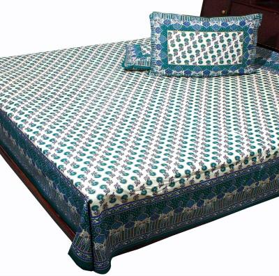 SWEET DREAM Cotton Polka Double Bedsheet