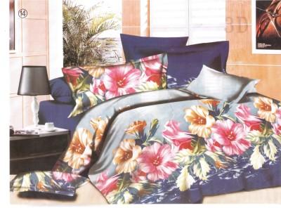 Vugis Polycotton Printed Double Bedsheet