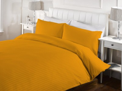 StyBuzz Cotton Striped Double Bedsheet