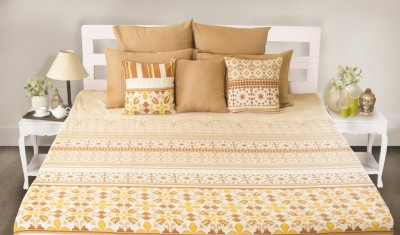 House This Cotton Floral King sized Double Bedsheet
