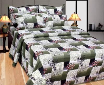 Fabbig Cotton Cartoon Double Bedsheet