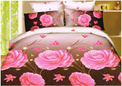 koncepts Polycotton Printed Double Bedsheet