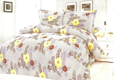 Madhavs Cotton Abstract King sized Double Bedsheet
