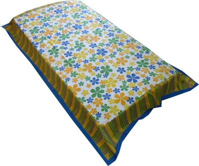 Jaipur Art and Craft Cotton Abstract Single Bedsheet