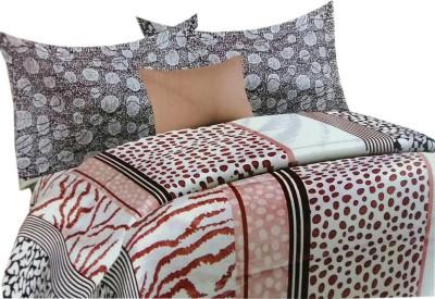 Shreem 2015 Cotton Animal Double Bedsheet