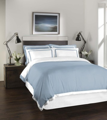 Spaces by Welspun Cotton Plain King sized Double Bedsheet