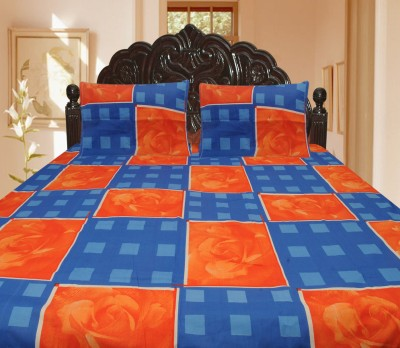 Lao - Lao Cotton Printed Double Bedsheet