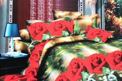 Magic Home Cotton Floral Double Bedsheet