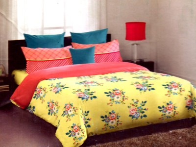 Portico New York Cotton Floral Double Bedsheet