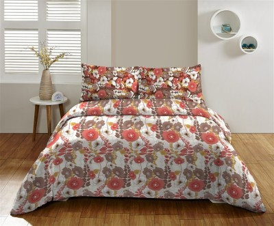 DCTex Furnishings Cotton Floral King sized Double Bedsheet