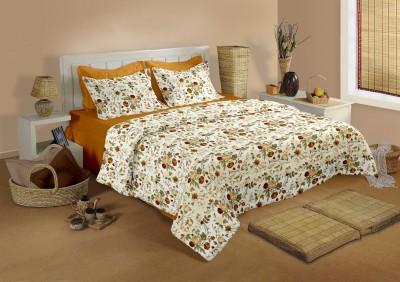 Raymond Home Cotton Polka Double Bedsheet