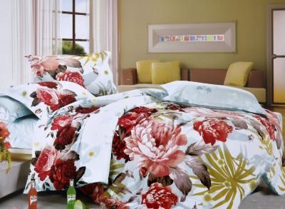 Shivalik Cotton Floral Double Bedsheet