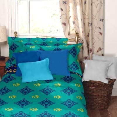 Home Ecstasy Cotton Abstract Single Bedsheet
