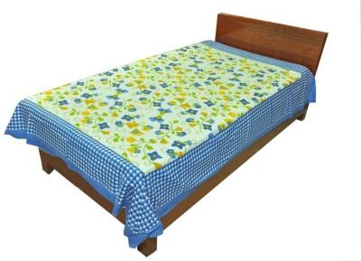 Shopping Rajasthan Cotton Floral Single Bedsheet