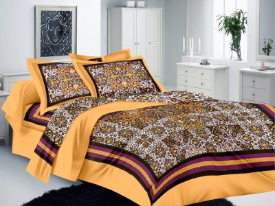 Lali Prints Cotton Printed Single Bedsheet
