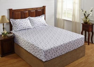 Stoa Paris Cotton Printed King sized Double Bedsheet