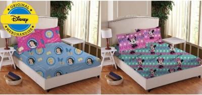 Disney Cotton Cartoon Double Bedsheet