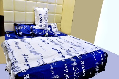 Midha Groups Cotton Printed Double Bedsheet