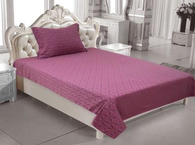 Elan Cotton Floral Single Bedsheet