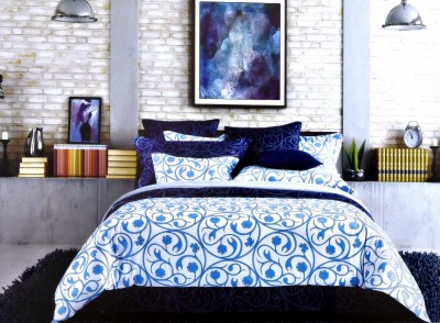 Shivalik Polycotton Printed Double Bedsheet