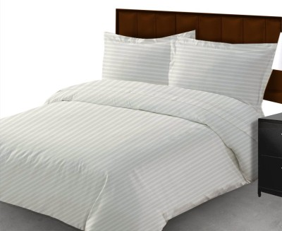 Sacro Cotton Striped Queen sized Double Bedsheet