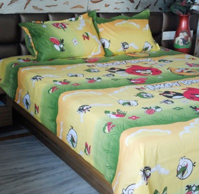 Snuggle Cotton Floral King sized Double Bedsheet
