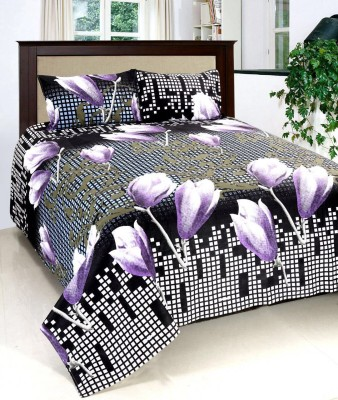 Jee Pole Cotton Printed Double Bedsheet