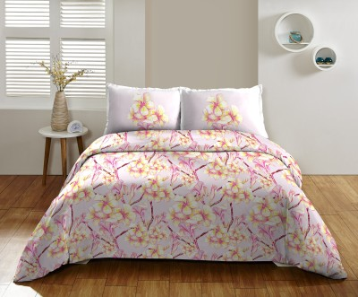 DCTex Furnishings Cotton Floral Single Bedsheet