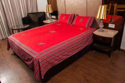 CottonHandiCluse Cotton Printed Double Bedsheet