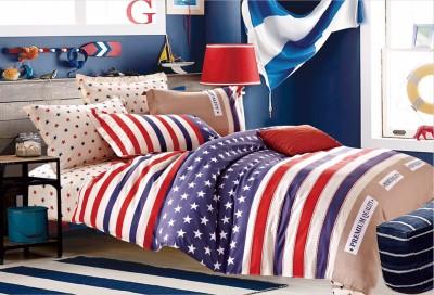 Sassoon Cotton Abstract Double Bedsheet
