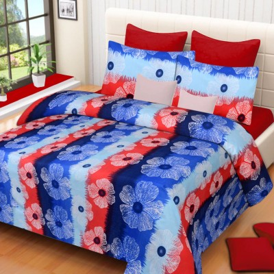 H2 Polyester 3D Printed Double Bedsheet