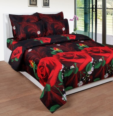 Stanley Cotton 3D Printed Double Bedsheet