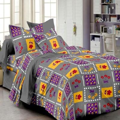 Always Plus Cotton Checkered Double Bedsheet