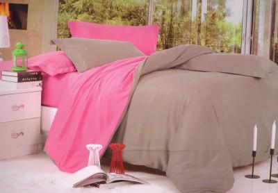 Shopgalore Cotton Plain Double Bedsheet
