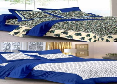 UniqueChoice Cotton Animal Double Bedsheet