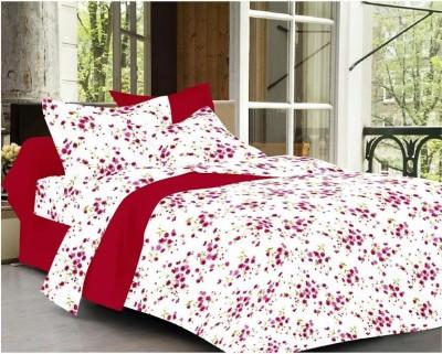Unique Cotton Floral Double Bedsheet