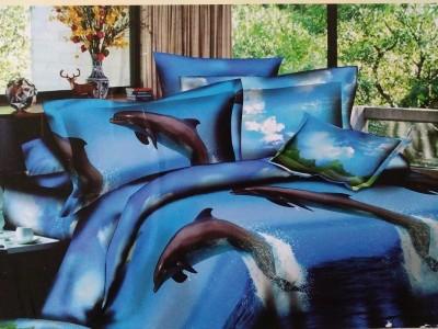 Spade Polyester Animal Double Bedsheet