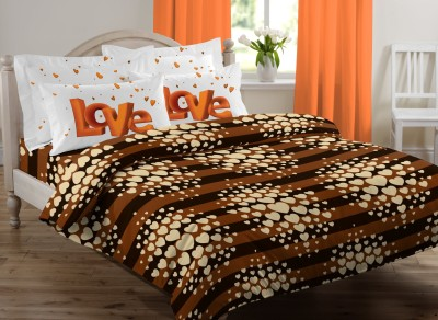 Royal Home Cotton Striped Double Bedsheet