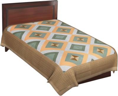 Navkar Eshop Cotton Printed Single Bedsheet