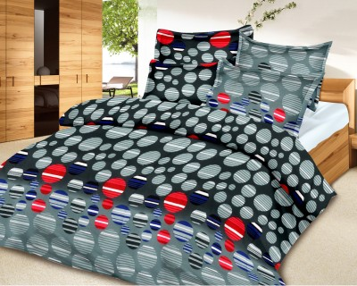 Urban Style Cotton Plain Queen sized Double Bedsheet