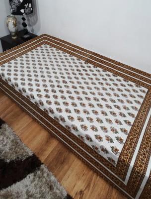 Heritagefabs Cotton Printed Single Bedsheet