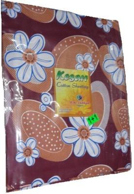 RK Cotton Floral Single Bedsheet