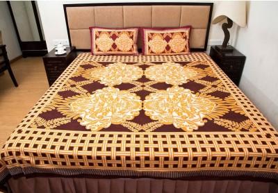 Shilpbazaar Cotton Printed Double Bedsheet