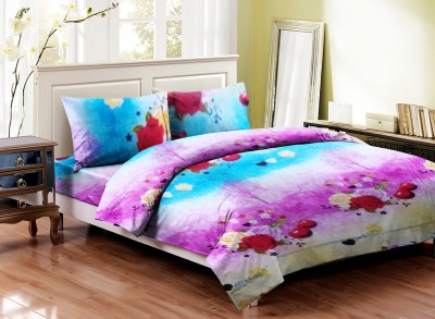 Majesty Cotton Floral Double Bedsheet