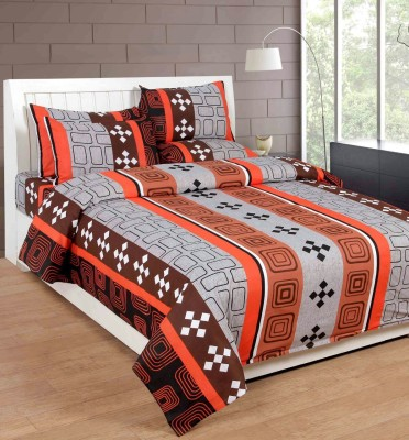 Divine Creations Cotton Printed Double Bedsheet