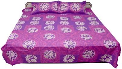 Kanak Cotton Printed Double Bedsheet
