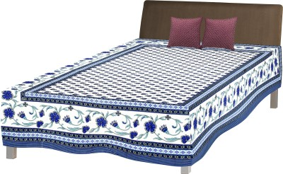 RajLaxmi Cotton Floral Single Bedsheet