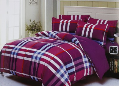 Dreaming Cotton Polycotton Striped King sized Double Bedsheet
