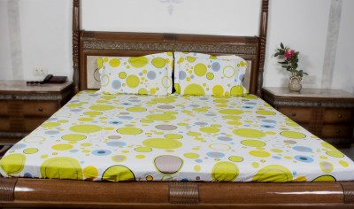 Sassoon Orro Polyester Abstract Double Bedsheet